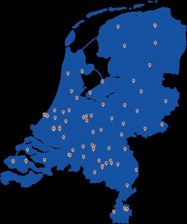 Taxatie Netwerk door heel Nederland